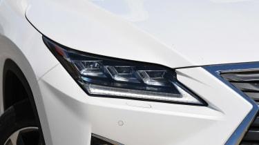 Lexus RX 450h L - front lights