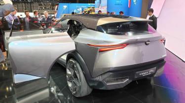 Nissan IMQ concept - Geneva rear static