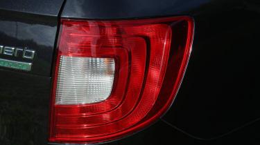 Used Skoda Superb tail-light