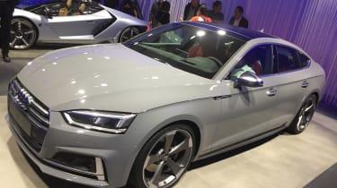 Audi S5 Sportback - paris front