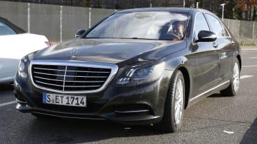 Mercedes S-Class facelift front
