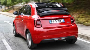 Fiat 500(RED) - rear