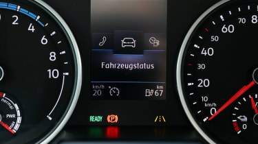 Volkswagen e-Crafter dash board