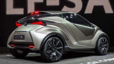 Lexus LF-SA - rear