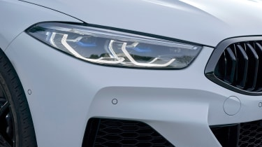 BMW 8 Series Gran Coupe - front light