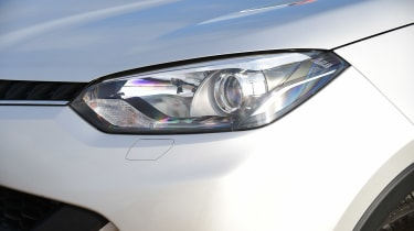 MG GS vs rivals - MG GS headlight