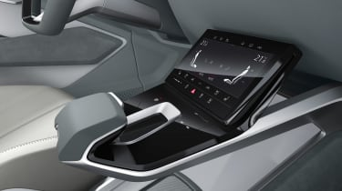 Audi e-tron Sportback concept - infotainment screen
