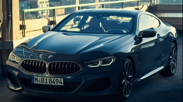 BMW 8 Series leaked pic