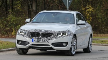 BMW 2 Series facelift spy shot