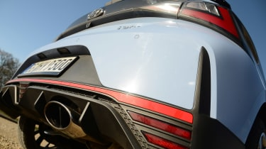 Hyundai i20 N - exhaust