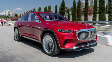 Vision Mercedes-Maybach Ultimate Luxury concept - front tracking