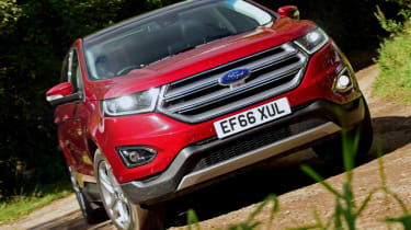 Ford Edge long term - third report front action