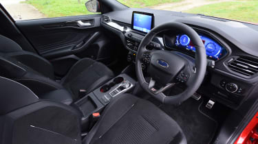 Ford Focus ST automatic - cabin