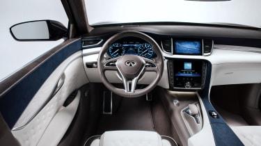 Infiniti QX50 Concept - interior
