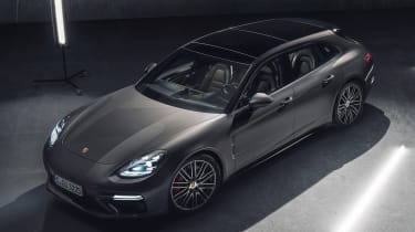 Porsche Panamera Sport Turismo - front overhead
