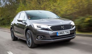 New DS 4 diesel UK drive front