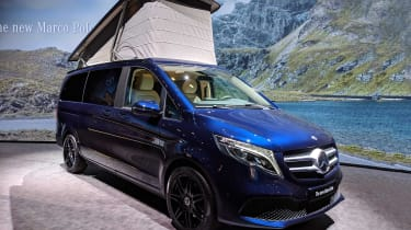 Mercedes V-Class Marco Polo facelift - reveal front