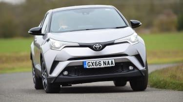 Toyota C-HR - front cornering