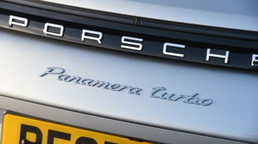 Porsche Panamera Sport Turismo badge