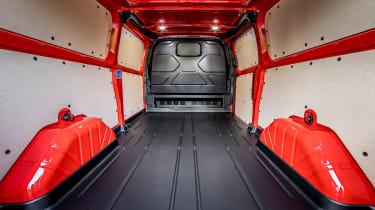 Ford Transit Custom - bed