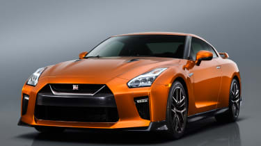 Nissan GT-R - front