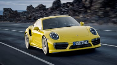 New 2016 Porsche 911 Turbo S