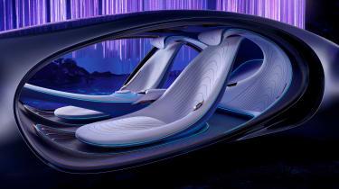 Mercedes Vision AVTR concept - seats