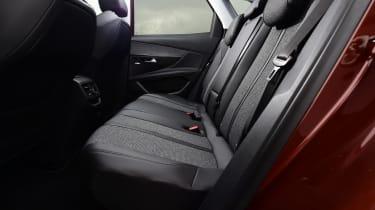 Peugeot 3008 brown - rear seats