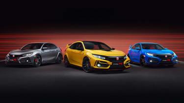 Honda Civic Type R GT - range