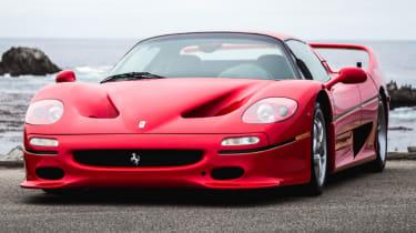 Ferrari F50 front