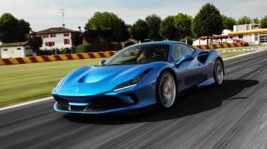 Ferrari F8 Tributo - front tracking