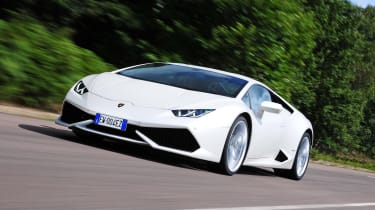 New Lamborghini Huracan front