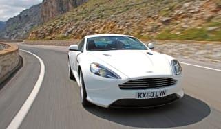 Aston Martin Virage front