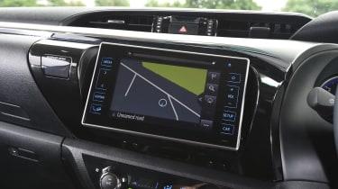 Toyota Hilux 2016 - infotainment