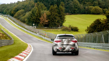 Alfa Romeo Stelvio Nurburgring 3