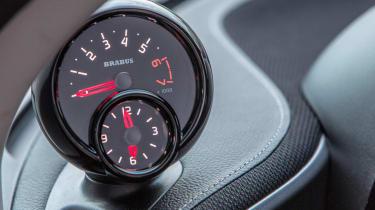 Smart ForTwo Brabus 2016 - gauge