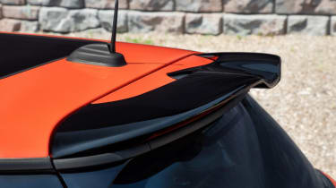 MINI John Cooper Works International Orange Edition - spoiler