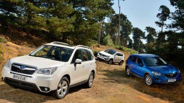 Subaru Forester vs rivals