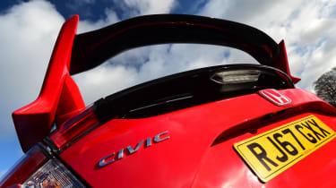 Honda Civic Type R - spoiler