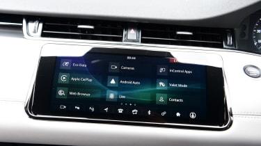 Range Rover Evoque -  screen