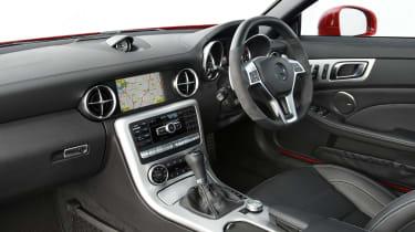 Mercedes SLK55 AMG interior