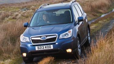 Subaru Forester 2.0D XC front