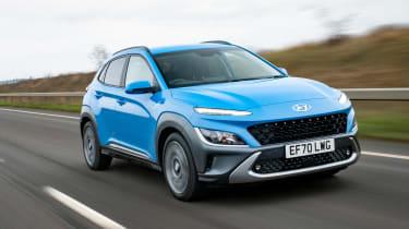 Hyundai Kona - front tracking