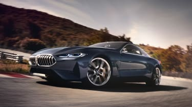 BMW Concept 8 Series - front action