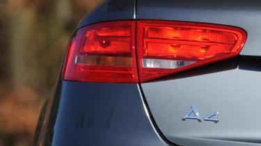 Audi A4 badge