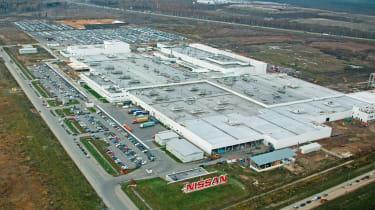 Nissan St Petersburg plant