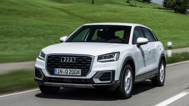 Audi Q2 1.0 TFSI - front tracking