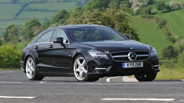 Mercedes CLS 350 CDI side tracking