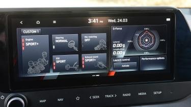 Hyundai i20 N - infotainment