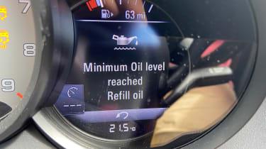 Porsche 718 Cayman GTS 4.0: long-term test review - first report oil